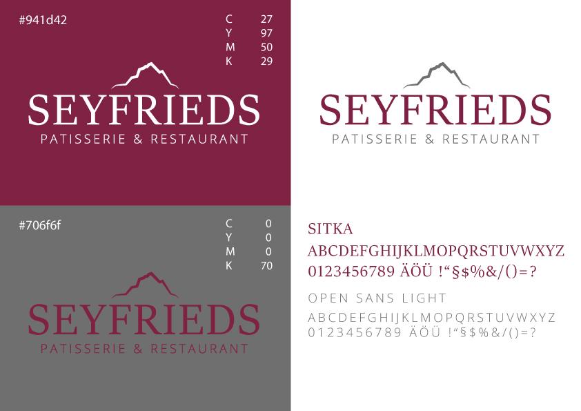 Seyfrieds Restaurant Logo